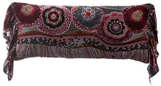 "Isabella Collection by Kathy Fielder Natasha Pillow, 14"" x 31"""