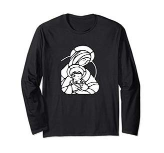 Virgin Mary Mother With Child T-Shirt Our Lady Christian Tee