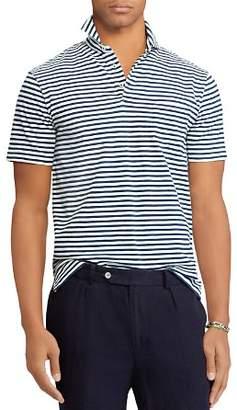 Polo Ralph Lauren Striped Custom Slim Fit Jersey Polo Shirt