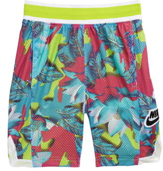 Nike Dri-FIT Hoopfly Print Athletic Shorts