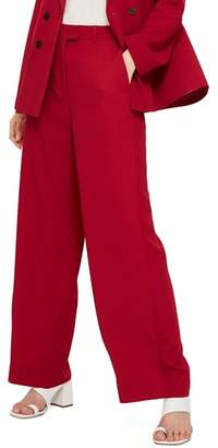 Topshop Slouch Suit Trousers
