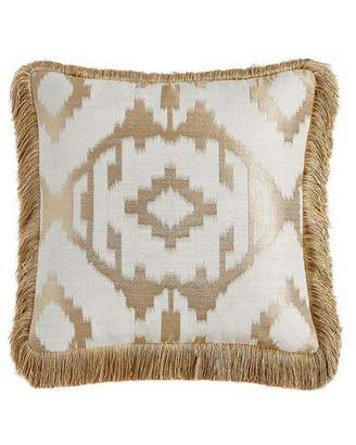 "Isabella Collection by Kathy Fielder Maya Pillow, 18""Sq."