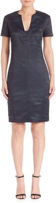 Piazza Sempione Two-Tonal Sheath Dress
