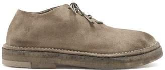 Marsèll Prapa Suede Derby Shoes - Mens - Grey