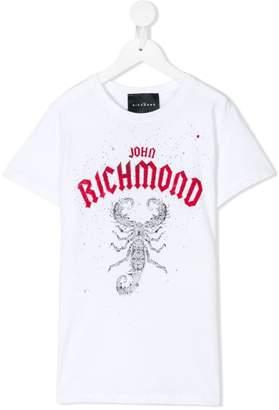 John Richmond Junior プリント Tシャツ