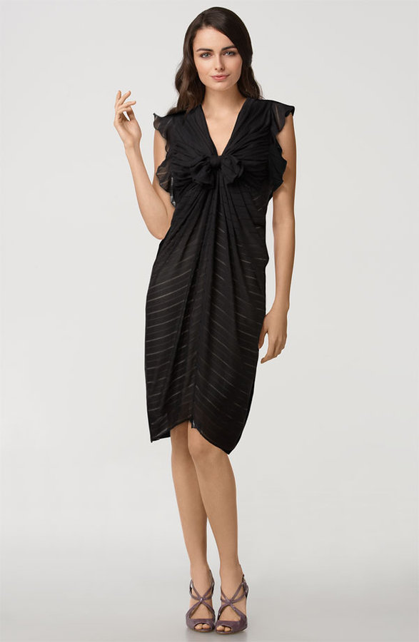 3.1 Phillip Lim Tie Front Silk Dress