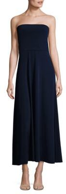 Polo Ralph Lauren Strapless Jersey Maxi Dress $198 thestylecure.com