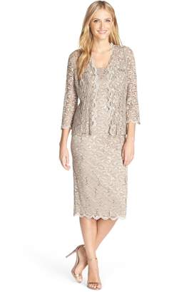Alex Evenings Lace Dress & Jacket