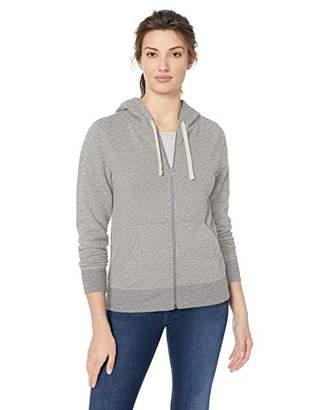 Amazon Essentials Women's French Terry Fleece Full-Zip Hoodie