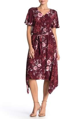 Como Vintage Hanky Hem Knit Midi Dress