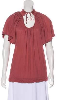 Stella McCartney Jersey Short Sleeve Top