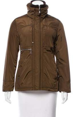 Post Card Insulated Zip-Up Jacket