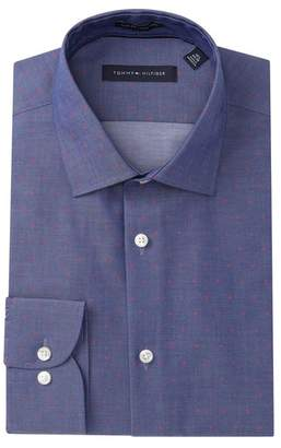 Tommy Hilfiger Printed Slim Fit Dress Shirt