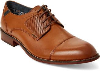 Steve Madden Tan Derium Leather Oxfords