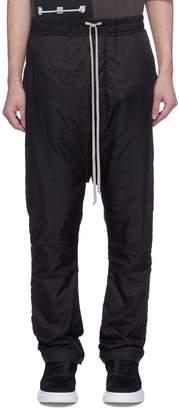 Rick Owens Drop crotch padded jogging pants