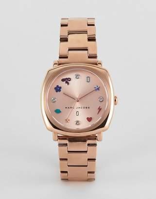 Marc Jacobs MJ3550 Mandy Bracelet Watch in Rose Gold