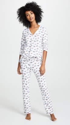 Roller Rabbit Party Animal Pajama Set