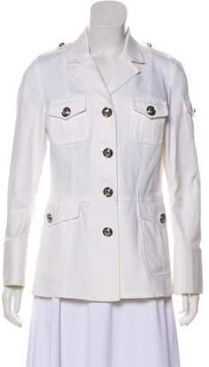 Tory Burch Notch-Lapel Long Sleeve Jacket