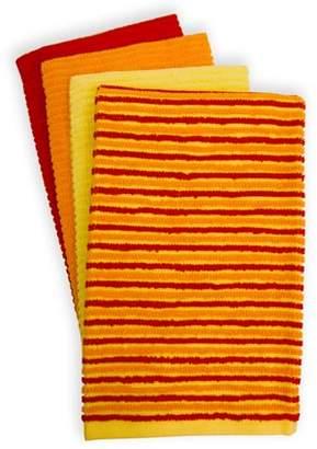 Fiesta 4-pc. Ribbed Kitchen Towel Set