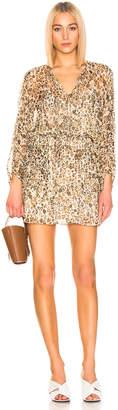 IRO Caprio Dress in Ecru Print | FWRD