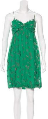 Stella McCartney Silk-Blend Dress