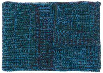Santoni chunky knit scarf