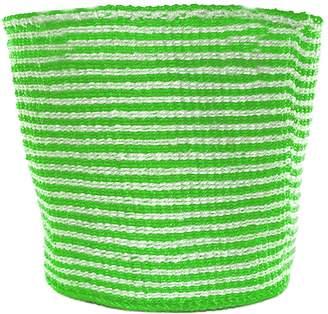 COUANI Nala Woven Basket, Lime Green Large