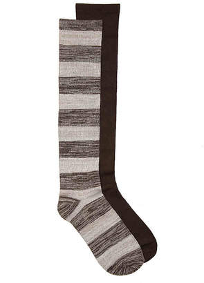 Kelly & Katie Stripe Knee Socks - 2 Pack - Women's