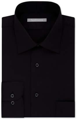 Van Heusen Men's Classic/Regular Fit Lux Sateen Solid Dress Shirt