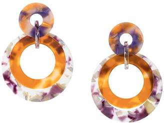 Lele Sadoughi marble drop earrings