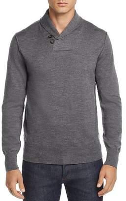 Fulton Oobe Shawl-Collar Pullover Sweater