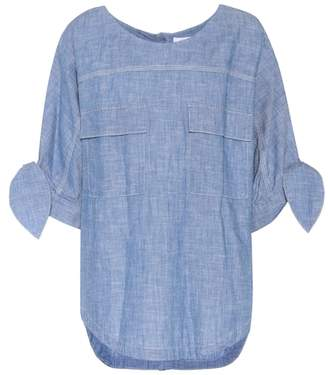 Chloé Chambray cotton top