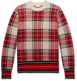 Van Wool Checked Merino Blend Dries Sweater Noten SnqWdvS17