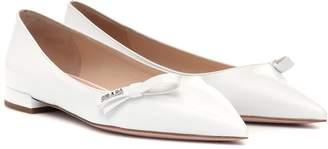 Prada Patent leather ballet flats
