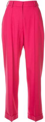 Racil high-waisted cropped trousers