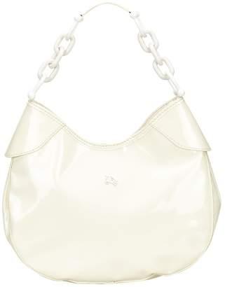 Burberry White Patent leather Handbag