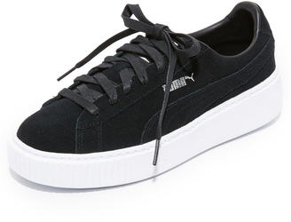 PUMA Creeper Lace Up Sneakers $100 thestylecure.com