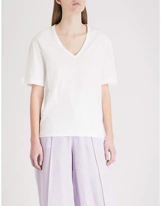 Joseph V-neck cotton-jersey T-shirt