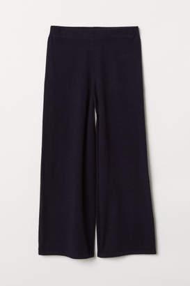 H&M Cashmere Culottes - Blue