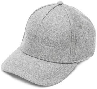 Calvin Klein logo print cap