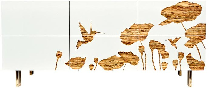 Iannone Design - Hummingbird Graphic Dresser
