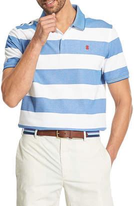 Izod Advantage Polo Easy Care Short Sleeve Knit Polo Shirt