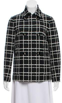 DSQUARED2 Wool Patterned Jacket