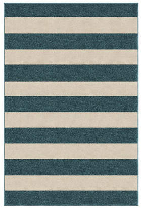HOME OUTFITTERS 6x9 Keywest Stripe Outdoor Area Rug