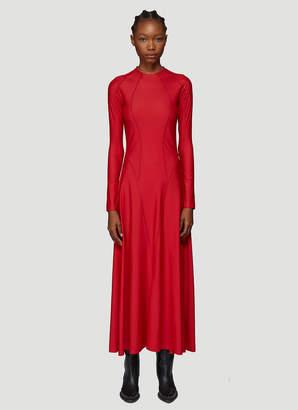 Gmbh Topstitch-Detail Dress in Red