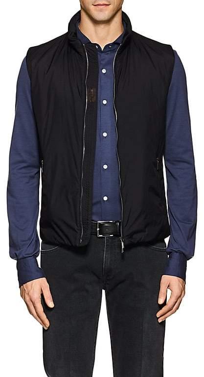 Moorer Men's Senio Tech-Taffeta Vest