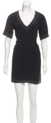 Barbara Bui Studded Mini Dress