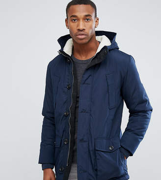 Jack and Jones Originals Parka With Fleece Lined Hood