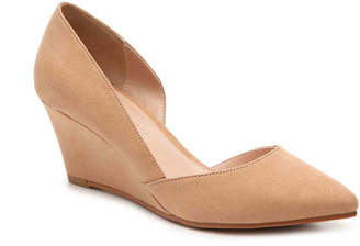 Women's Fassi Wedge Pump -Nude $65 thestylecure.com