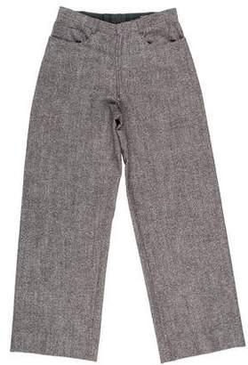 Neil Barrett Wool-Blend Pants